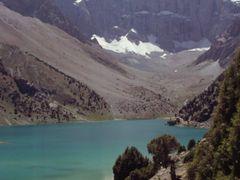 Le pic Maria vu des rives des lacs de Koulikalon by <b>Olivier Morice http://olivier-morice.fr</b> ( a Panoramio image )