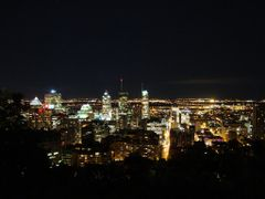 Downtown Montreal By Night by <b>Bierophile</b> ( a Panoramio image )