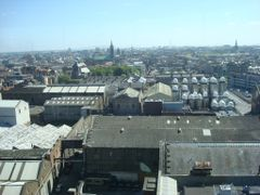 Dublin from Gravity Bar Guiness Storehouse by <b>Jose Santos Silva</b> ( a Panoramio image )