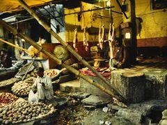 Peshawar Bazaar - Butcher by <b>zerega</b> ( a Panoramio image )
