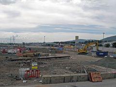 Belfast, Northern Ireland. Construcion place by <b>Eivind Friedricksen</b> ( a Panoramio image )