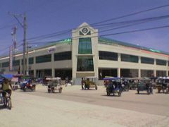 Tubigon Public Market before the vandalism and mismanagement of  by <b>Capt. Bobby Lopez</b> ( a Panoramio image )