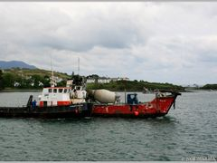 Ring of Beara - Car ferry from Castletownbere to Bear Island, Ir by <b>Marina Frintrop</b> ( a Panoramio image )
