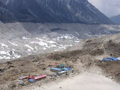 Gorak Shep & Khumbu glacier by <b>andreisss</b> ( a Panoramio image )