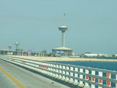 On Bahrain Bridge, Saudi Customs by <b>Sai Achanta</b> ( a Panoramio image )
