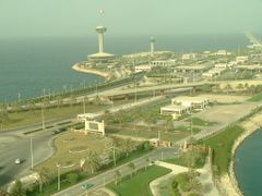 Bahrain from Saudi Arabia by <b>Sai Achanta</b> ( a Panoramio image )