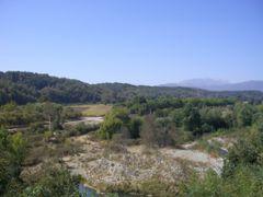 Vista hacia el riod perquilauquen desde el mirador de Villa Bavi by <b>gabocof</b> ( a Panoramio image )
