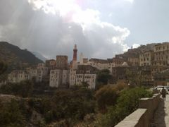 View of Jibla, with Queen Arwa Mosque (late 11th cent.) by <b>Prof. Richard T. Mortel</b> ( a Panoramio image )