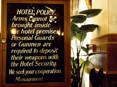 Peshawar - Hotel Policy about your Personal Gunmen by <b>zerega</b> ( a Panoramio image )