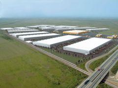 Cefin-Logistics-Park by <b>razvantomescu</b> ( a Panoramio image )