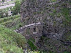 Viaduct near Akhaltsikhe Castle by <b>Zurab Tskvitinidze</b> ( a Panoramio image )