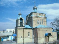 "©Church of St.Alexander Nevski in 30""th district of Ashgabat nea by <b>Sergey Abasov</b> ( a Panoramio image )"