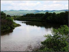 Mongolia and Russia border river 01 by <b>zouzaimenggugaoyuan</b> ( a Panoramio image )