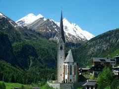 -Heiligenblut- Kirche und Grossglockner by <b>Markus Freitag</b> ( a Panoramio image )