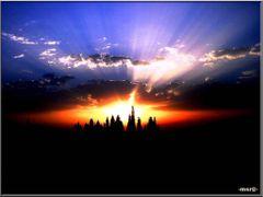 Rayons en ciel - SobhanAllah -msr@_ by <b>msadek rached–msr@-?</b> ( a Panoramio image )