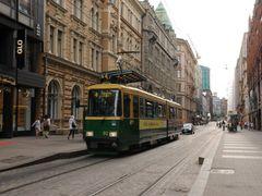 A new tram runs through an old street by <b>ThoiryK</b> ( a Panoramio image )