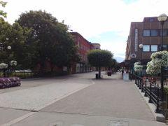 Stora gatan, Koping by <b>PetriH</b> ( a Panoramio image )