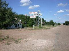 Abandoned Motel at Glenrio Tx by <b>itss_yyama</b> ( a Panoramio image )