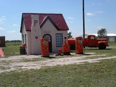 Vintage Phillip 66 Station at Mclean ,  TX by <b>itss_yyama</b> ( a Panoramio image )
