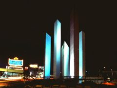 Ciudad Satelite, Naucalpan. Mexico. 1983 by <b>Antonio Cristerna</b> ( a Panoramio image )