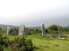 Derrintaggart stone circle by <b>JMZ2007</b> ( a Panoramio image )