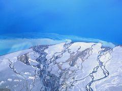Flussdelta am Lake Tekapo NZ by <b>paulmueller.ch</b> ( a Panoramio image )