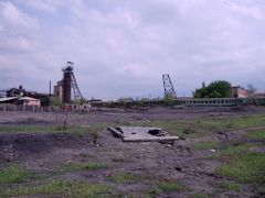Kyzyl-Kiya, coal mine, 2004 by <b>igor_alay</b> ( a Panoramio image )