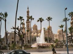 Abu Al Abas and Sidi Yaqut Mosques by <b>Christophe Van Hulle</b> ( a Panoramio image )