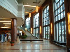 Rose Theatre Brampton Lobby, Ontario, Canada by <b>Richard Forster</b> ( a Panoramio image )