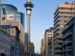 Sky Tower, Auckland by <b>Vladimir Minakov</b> ( a Panoramio image )