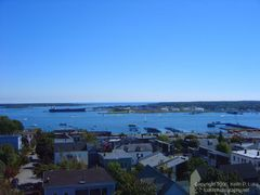 View from the Portland Observatory by <b>Keith P. Luke</b> ( a Panoramio image )