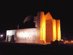 Khadzhi Akhmed Yassaui mausoleum by <b>Utkin Mikhail</b> ( a Panoramio image )