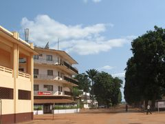 Italians meeting-place in Bangui by <b>Playar</b> ( a Panoramio image )