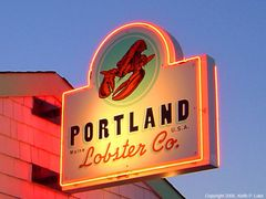 Portland Lobster Company, Commercial Street - Portland by <b>Keith P. Luke</b> ( a Panoramio image )