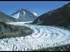 Grum-Grshimailo glacier, 2nd largest in the Pamir by <b>hausibek</b> ( a Panoramio image )