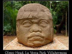Olmec Head, La Venta Park Villahermosa by <b>www.tatjana.ingold.ch</b> ( a Panoramio image )