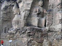 Yungang Grottoes by <b>Jan Balaz</b> ( a Panoramio image )