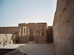 Temple of Hathor Roof by <b>Christophe Van Hulle</b> ( a Panoramio image )