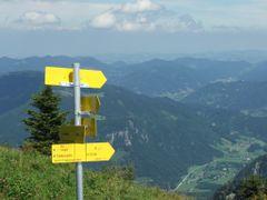 Signpost - Wegweiser by <b>markus haselmaus</b> ( a Panoramio image )