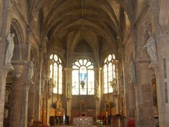 """Inside the Cathedral """"Notre Dame du havre"""" by <b>Lecleire Jacques</b> ( a Panoramio image )"""