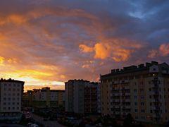 Sky is burninig by <b>Rafal Klisowski</b> ( a Panoramio image )