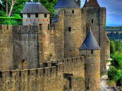 Carcassonne - La Cite by <b>jacky bachelet</b> ( a Panoramio image )