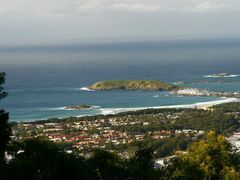 Marina and Muttonbird Island from Bruxner Lookout by <b>Steve Bennett</b> ( a Panoramio image )