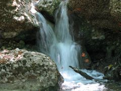 Petaloudes, waterfall with butterflies by <b>Atti</b> ( a Panoramio image )