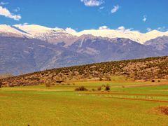 Near Tetovo, view to Shara Mountain by <b>Ljubisa Bogoevski</b> ( a Panoramio image )