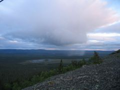 Shower over Pyha-Luosto National Park by <b>viajera</b> ( a Panoramio image )