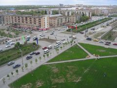 ул. Сатпаева by <b>malik.suenov</b> ( a Panoramio image )