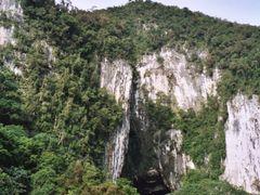 Bats Leave Deer Cave by <b>Christophe Van Hulle</b> ( a Panoramio image )