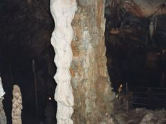 Columns in Wind Cave by <b>Christophe Van Hulle</b> ( a Panoramio image )
