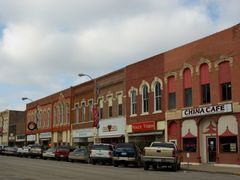 Winterst, Iowa - China & Northside Cafe by <b>chekki</b> ( a Panoramio image )